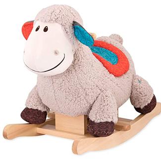 B. Toys Loopsy Wooden Rocking Sheep