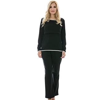 Bearsland Women's Cotton Nursing Pajamas Sets