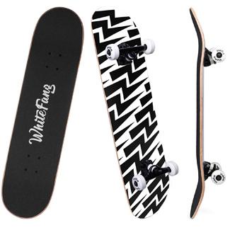 WhiteFang Complete Beginners Skateboard