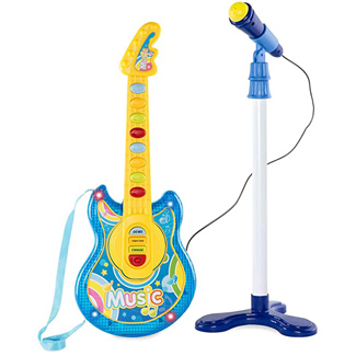 Best Choice Products 19-Inch Electric Flash Guitar Playset