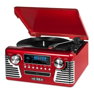Victrola 50's Retro Bluetooth Record Player