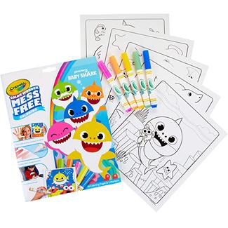 Crayola Baby Shark Mess Free Coloring