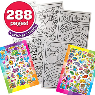 Crayola All-in-one Coloring Book Set