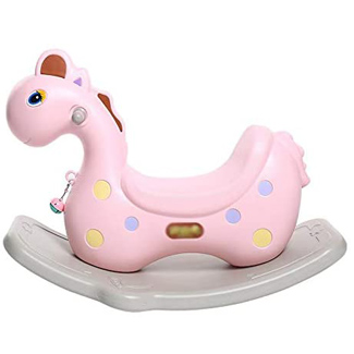 Eco Friendly Plastic Rocking Horse