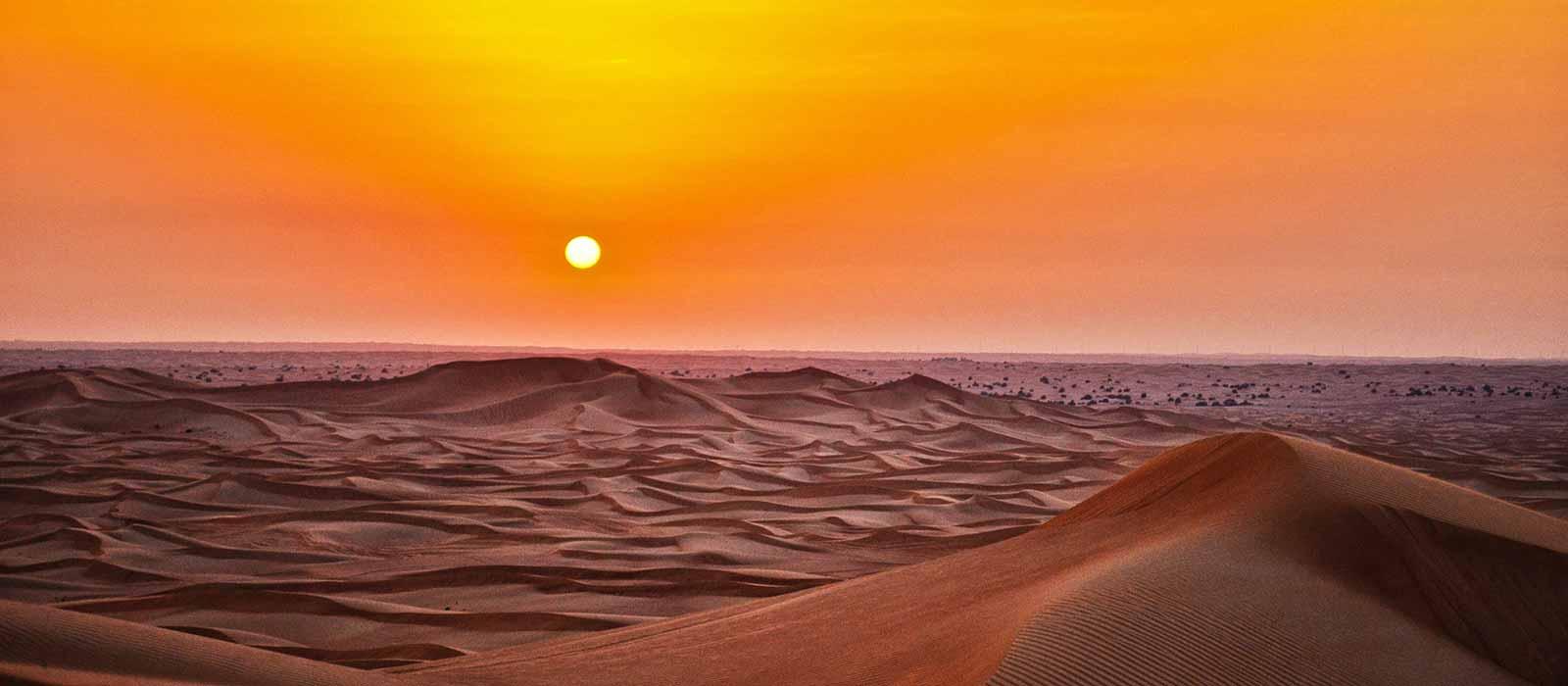 Desert heating