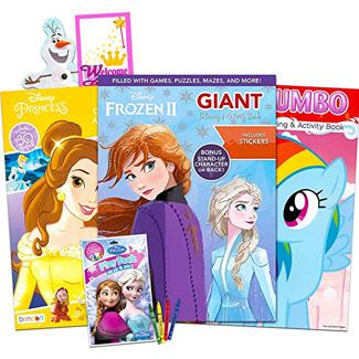 Disney Jumbo Coloring Book Super Set