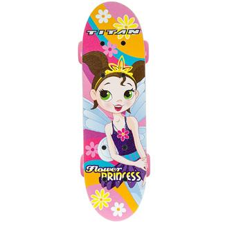 Flower Power Princess Skateboard