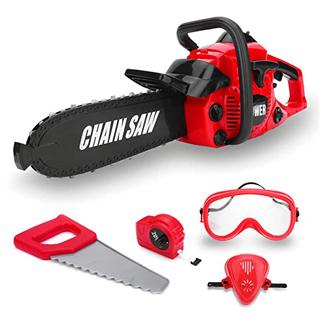 Kids Construction Yard Chain Saw