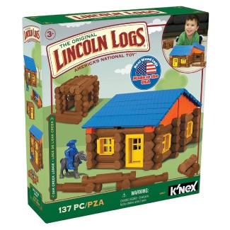 LINCOLN LOGS – Oak Creek Lodge – 137 Pieces
