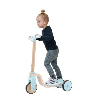 Lil' Rider Kids Wooden Scooter