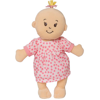 "Manhattan Island 12"" Soft Baby Doll"