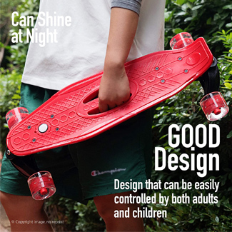 22 Mini Cruiser (Several Colors Available)