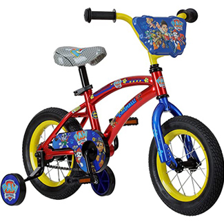 Nickelodeon Paw Patrol Bike