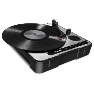 Numark PT01USB   Portable Vinyl-Archiving Turntable