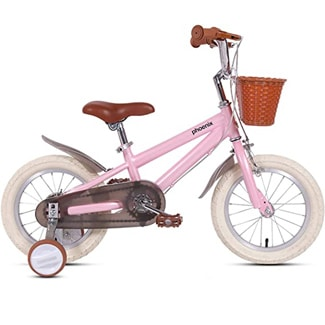 PHOENIX 14 16 18 Inch Kids Bike with Training Wheels