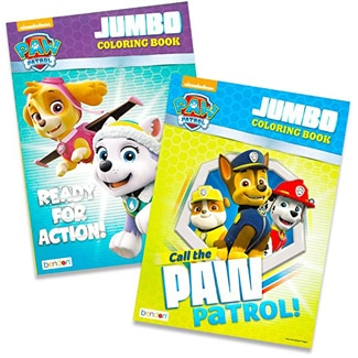 Paw Patrol Coloring Books – 2 pack