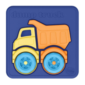 Green Toys 4 Piece Dump Truck Puzzle