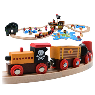 Pirate Theme Train Set & Puzzle