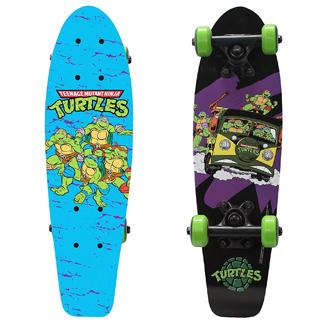 PlayWheels Teenage Mutant Ninja Turtle 21 Wood Cruiser Skateboard