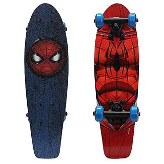 PlayWheels Ultimate Spiderman 21 Wood Cruiser Skateboard