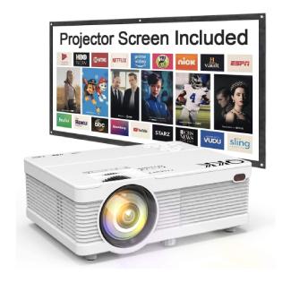 QKK Mini Portable Projector