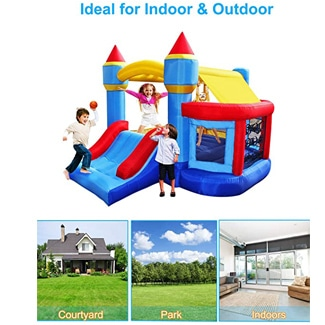 Castle Bounce House and Ball Pit