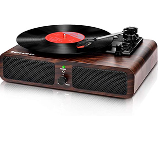 Udreamer Record Player with Stereo Speakers