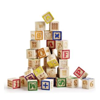 Wooden ABC Blocks