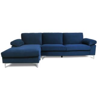 JulyFox Blue Sectional