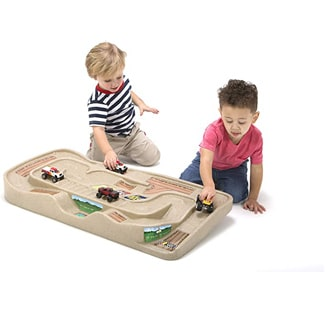 Carry and Go Durable Track Table