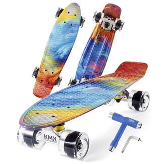 Complete Mini Cruiser Skateboard Gift Set