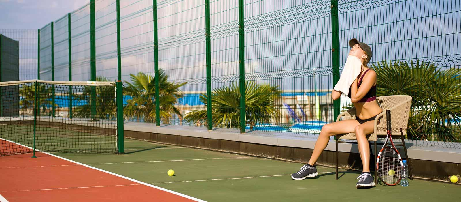 Tennis towel