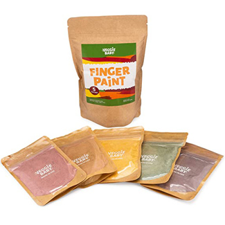 VeggieBaby Finger Paints for Toddlers
