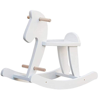 Labebe Wooden Rocking Horse