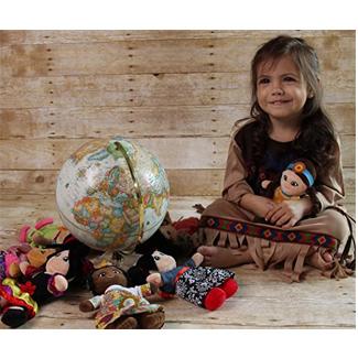 Snuggle Stuffs Soft Plush Around the World