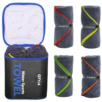 4Monster Microfiber Camping Towel