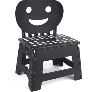 Happy Face Folding Step Stool