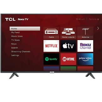TCL 4K Smart LED Roku TV 50