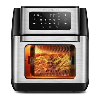 CROWNFUL 9-in-1 Air Fryer Toaster Oven