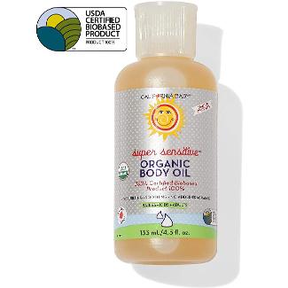 California Baby Super Sensitive Certified Organic Body Oil
