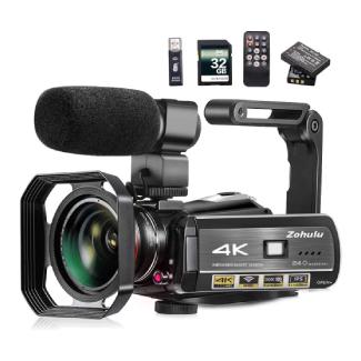 Zohulu 4K Video Camcorder for Vlogging