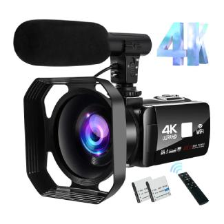 4K Video Camcorder Vlogging for YouTube