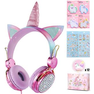 Sparkle Unicorn Headphones