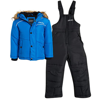 DKNY Boys 2-Piece Snowsuit Set