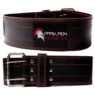 Dark Iron Fitness Genuine Leather Pro Belt