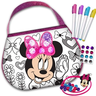 Disney Minnie Mouse Color 'N Style Purse