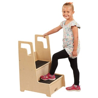 Non-Slip Step Stool with Support Handles