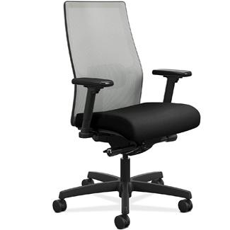 HON Ignition 2.0 Mid-Back Adjustable Lumbar Desk Chair