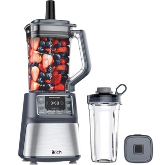 IKICH Vacuum Blender with LCD Screen & Timer