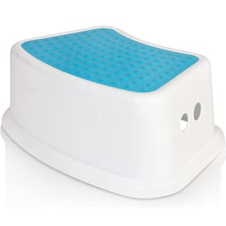 Kid's Best Friend Blue Step Stool